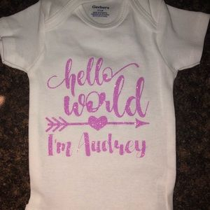 Other - Onesie personalized